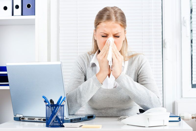 How to Protect Your Office from the Flu, business insurance in Orange, California