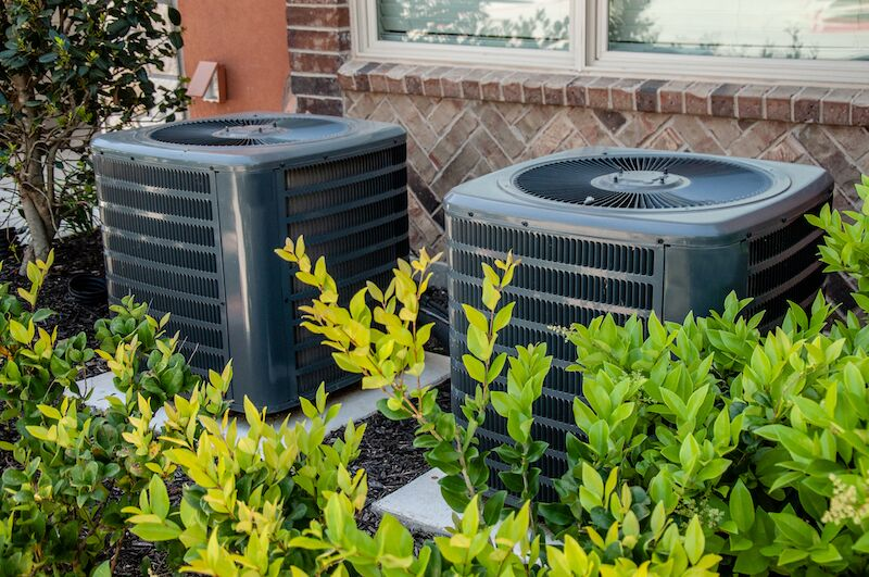 outdoor air conditioning unit, boost air conditioner efficiency