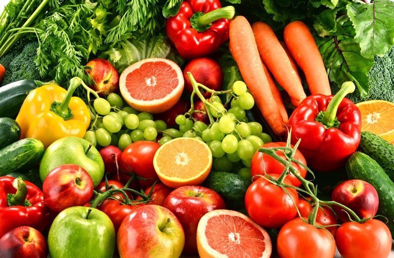 fresh produce, suggestions to help you eat healthier this Thanksgiving
