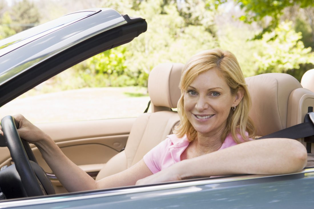 car smiling